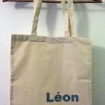 Tote bags personnalisés – Freezer Paper et peinture textile